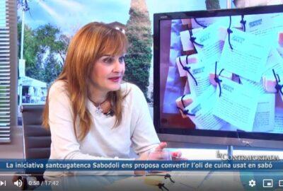 TV Sant Cugat entrevista a Teresa Puig