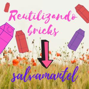Reutilizando bricks para hacer salvamantel