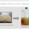 Con aceite de cocina usado lo reciclamos en jabón para el lavavajillas