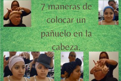 7 maneras de colocar un pañuelo en la cabeza