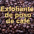 Exfoliante de poso de café